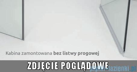 Radaway Torrenta Kdj Kabina prysznicowa 90x100 prawa szkło przejrzyste + brodzik Doros D + syfon bez progu