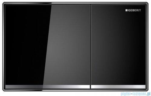 Geberit Sigma60 Przycisk uruchamiający przedni szkło czarne 115.640.SJ.1