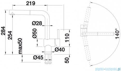 Blanco Linus-s Vario  bateria wysokociśnieniowa kolor: chrom 518406