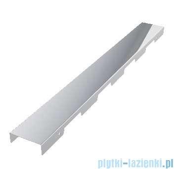 Schedpol brodzik posadzkowy podpłytkowy ruszt Steel 90x90x5cm 10.002/OLKB/SL