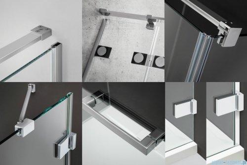 Radaway Euphoria KDJ Kabina prysznicowa 90x100 prawa szkło przejrzyste 383612-01R/383241-01R/383052-01