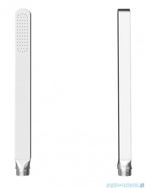Kohlman Foxal zestaw prysznicowo-wannowy chrom QW211FQ20