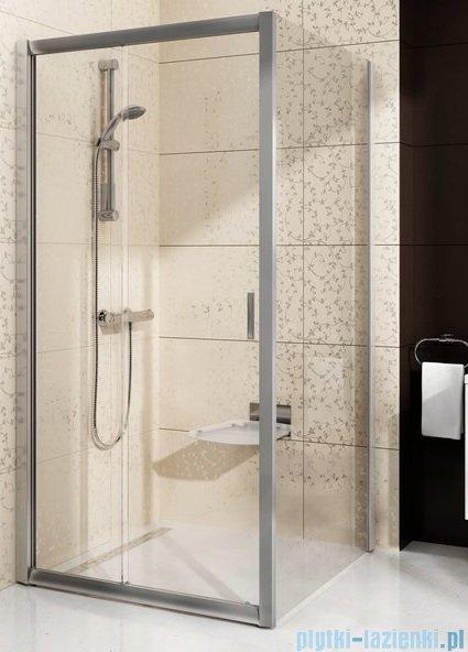 Ravak Blix BLDP2 drzwi prysznicowe 120cm aluminium grape Anticalc 0PVG0C00ZG