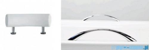 Besco Optima Premium 160x70cm wanna prostokątna z uchwytami i zagłówkiem + obudowa + syfon #WAO-160-PKP/#OAO-160-PK/19975