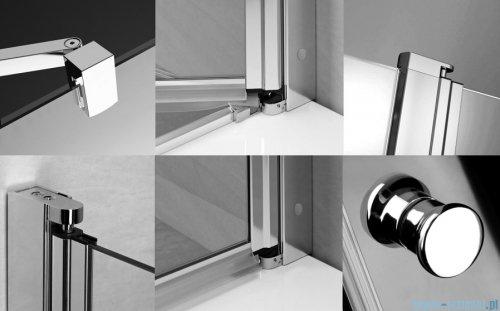 Radaway Eos II Dwd drzwi prysznicowe 170x195 W4 szkło przejrzyste 3799730-01-01/3799970-01-01