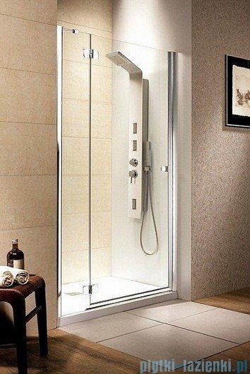 Fuenta DWJ Radaway Drzwi wnękowe 80 lewe szkło grafitowe