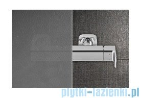 Ravak Blix BLPS ścianka boczna stała 90cm aluminium grape Anticalc 9BH70C00ZG