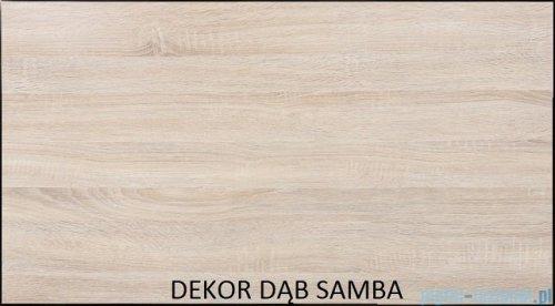 Antado Spektra ceramic szafka z umywalką 2 szuflady 62x43x50 dąb samba 670662/667549