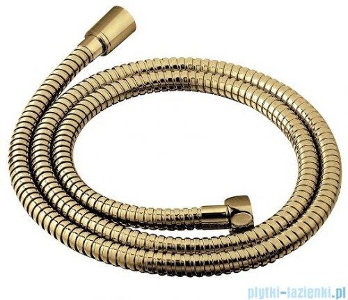 Omnires wąż prysznicowy 150 cm złoto szczotkowane 029GLB