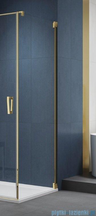 SanSwiss Cadura Gold Line ścianka boczna 70x200cm profile złote CAT10701207