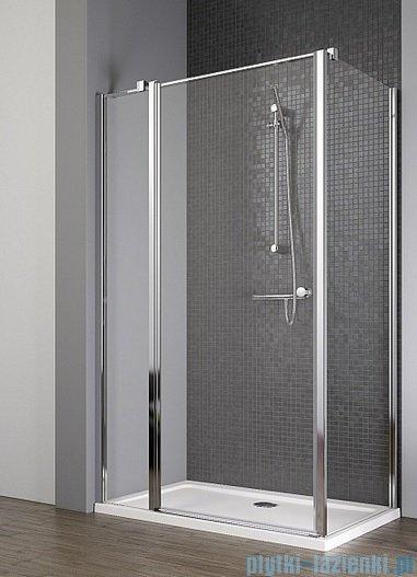 Radaway Eos II KDJ kabina prysznicowa 100x100 lewa szkło przejrzyste + brodzik Delos C + syfon