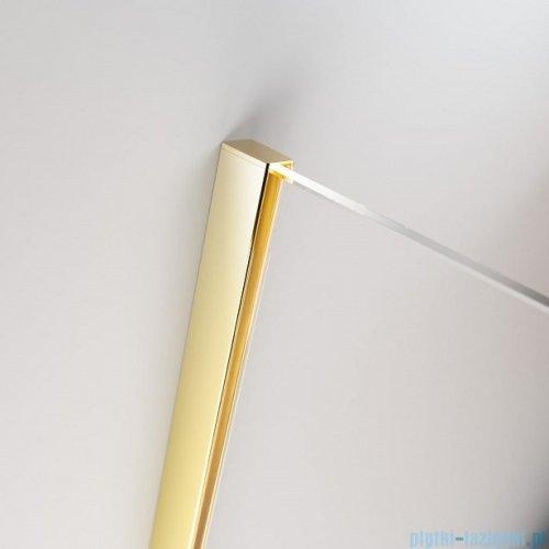 Radaway Furo Gold PND II parawan nawannowy 110cm lewy szkło przejrzyste 10109588-09-01L/10112544-01-01