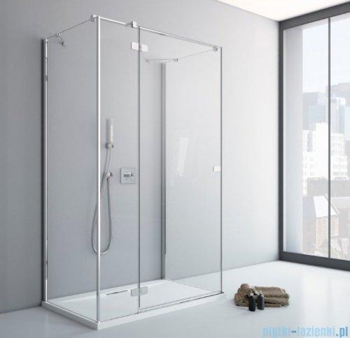 Radaway Fuenta New Kdj+S kabina 90x100x90cm lewa szkło przejrzyste + brodzik Doros D + syfon ShowerGuard