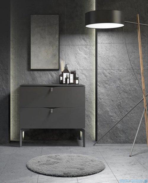 Oristo Siena szafka z umywalką 50x50x46 czarny mat OR45-SD1S-50-8/UME-CE-50-91