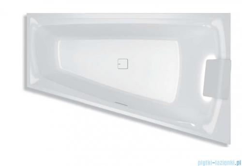 Riho Still Smart LED wanna asymetryczna z oświetleniem 170x110cm lewa + syfon BR0400500K00130