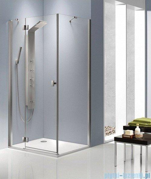 Radaway Kabina prysznicowa Essenza KDJ 90x80 lewa szkło brązowe