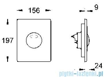 Grohe Skate przycisk uruchamiający chrom mat 42303P00