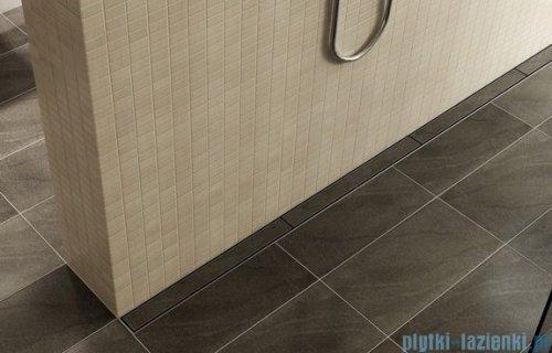 Wiper Odpływ liniowy Premium Pure 70cm z kołnierzem mat PU700MPS100