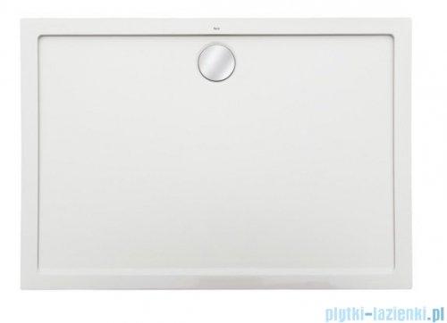 Roca Aeron brodzik prostokątny 160x90x3,5cm biały + syfon A276297100