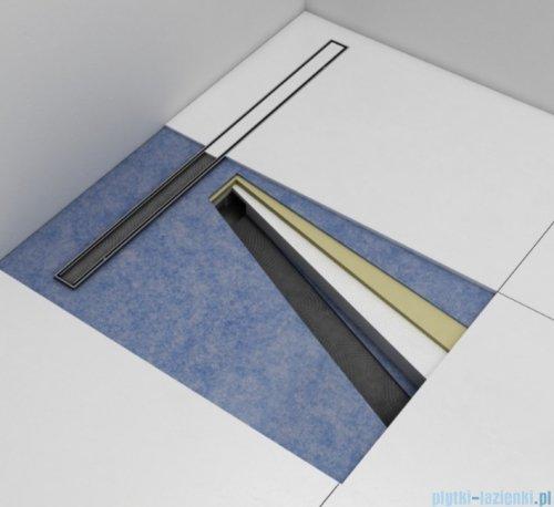 Schedpol Schedline  brodzik posadzkowy podpłytkowy z odpływem liniowym slight plate 90x90x5/12cm 10ST.1S1-9090