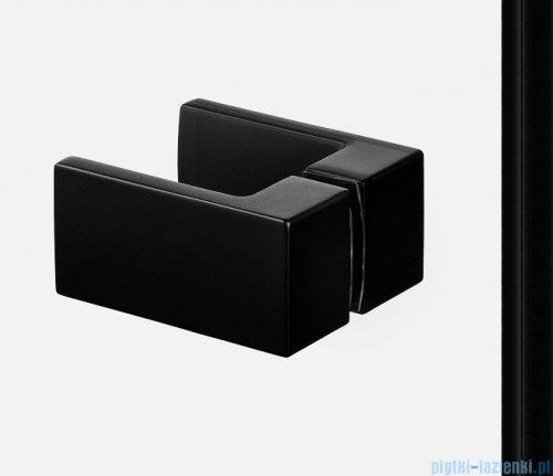 New Trendy Avexa Black kabina kwadratowa 100x80x200 cm przejrzyste EXK-1616