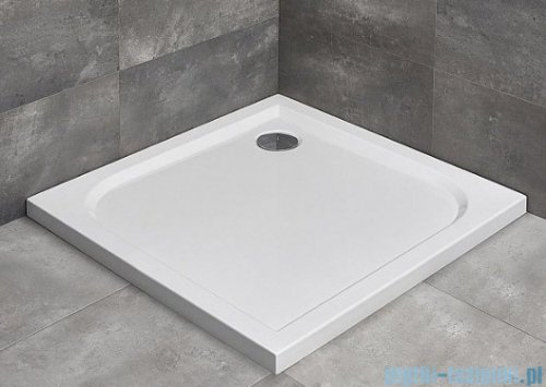 Radaway Torrenta Kdj Kabina prysznicowa 100x100 prawa szkło przejrzyste + brodzik Delos C + syfon 32444-01-01NR