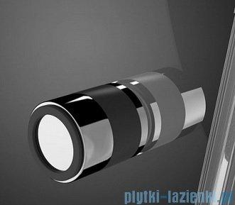 Radaway Eos KDJ-B kabina prysznicowa 80x100 lewa szkło intimato + brodzik Doros D + syfon 37443-01-12NL