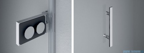 SanSwiss PUR PU31P drzwi lewe 100x200cm satyna PU31PG1001049