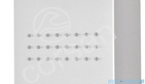 Corsan Neo Led panel natryskowy z mieszaczem stal szczotkowana S-060MLED