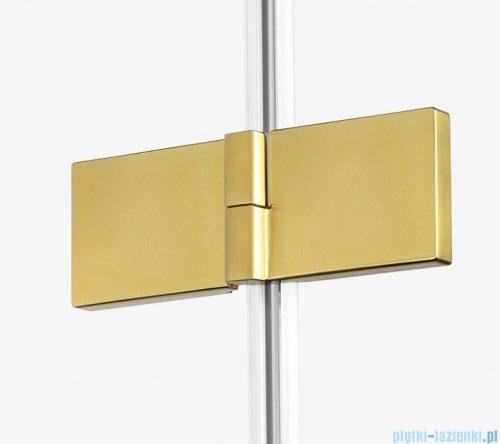 New Trendy Avexa Gold parawan nawannowy 2-częściowy 120x150 cm lewy przejrzyste EXK-2014