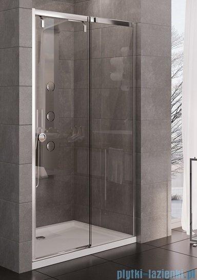 New Trendy Porta drzwi prysznicowe 100x200cm prawe szkło przejrzyste EXK-1046
