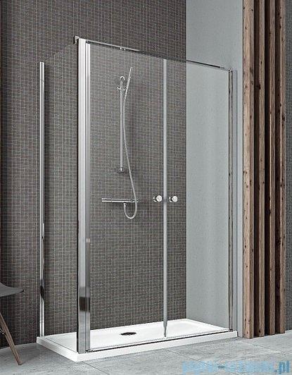 Radaway Eos II DWD+S Drzwi prysznicowe 110x197 szkło przejrzyste