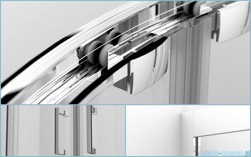 Besco Modern kabina półokrągła 80x80x185cm mrożone MP-80-185-M
