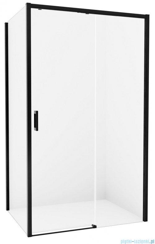 New Trendy Prime Black kabina prostokątna 150x90x200 cm prawa przejrzyste D-0327A/D-0129B