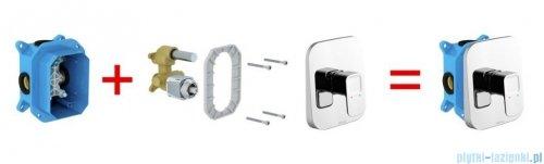 Ravak 10° bateria podtynkowa bez przełącznika do R-box X070071