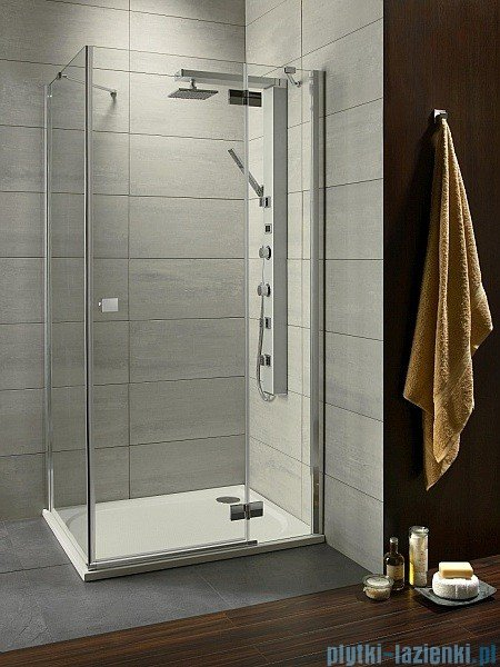 Radaway Kabina prysznicowa Almatea KDJ 120x80 prawa szkło intimato