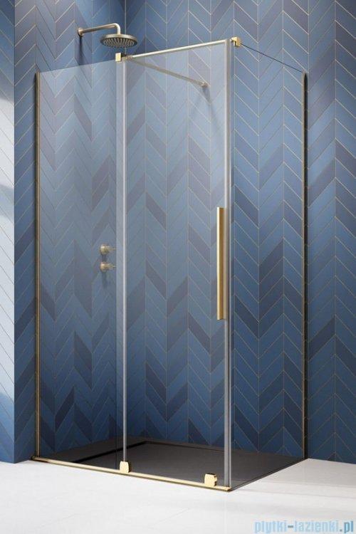 Radaway Furo Gold Kdj kabina 90x120cm lewa szkło przejrzyste 10104472-09-01L/10110430-01-01/10113120-01-01