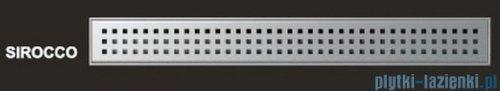Wiper Odpływ liniowy Premium Sirocco 120cm z kołnierzem mat S1200MPS100
