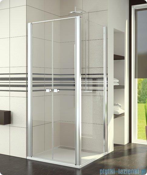 SanSwiss Swing Line SLT2 Ścianka boczna 20-90cm profil srebrny SLT2SM10107