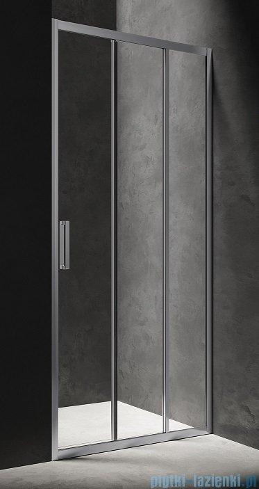 Omnires Chelsea drzwi prysznicowe 100x190cm przejrzyste NDT10XCRTR