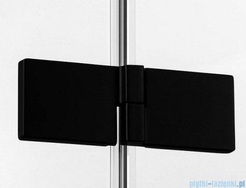New Trendy Avexa Black kabina kwadratowa 110x110x200 cm przejrzyste lewa EXK-1831