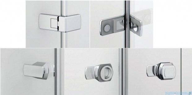 Sanswiss Melia ME31P Kabina prysznicowa prawa 120x70cm przejrzyste ME31PD1201007/MET3PG0701007