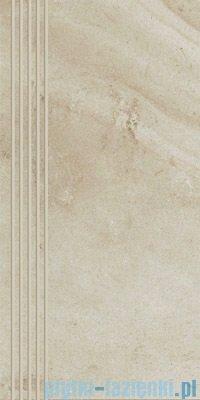 Paradyż Teakstone bianco stopnica 30x60