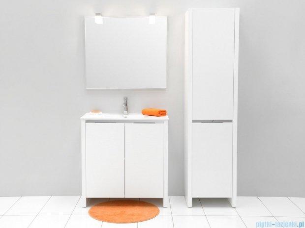 Antado Pacific New szafka z umywalką ceramiczną 79x38x82 biały połysk PF-141/8-WS/47+UCE-80