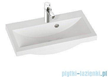 Marmorin umywalka nablatowa Talia 60, 60 cm bez otworu biała 270060022010