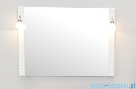 Antado Ritorno lustro 100x71 rama biała VR-L71x100-14