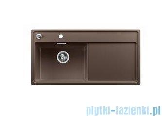 Blanco Zenar XL 6 S-F  Zlewozmywak Silgranit PuraDur komora lewa kolor: kawowy z kor. aut. i deską do krojenia z drewna jesionowego 519330
