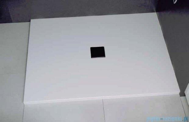 Besco Nox ultraslim white 100x90cm brodzik prostokątny biały/biały BMN100-90-BB
