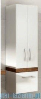 Aquaform Merida szafka wysoka biała/dąb 0415-293151