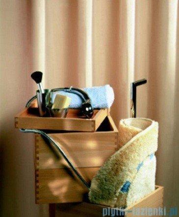 Sealskin Granada beż zasłona prysznicowa PCV 120x200cm 217001160